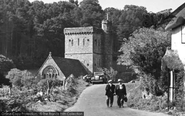 Photo of Branscombe, St Winifred's Church c.1955