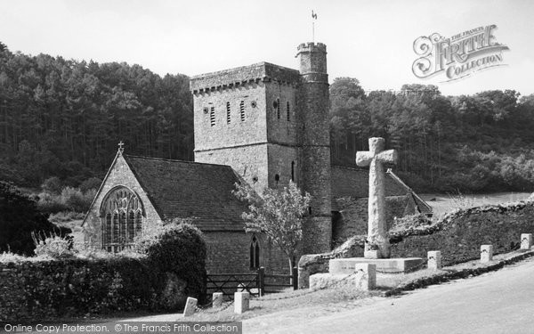 Branscombe, St Winifred's Church c.1955