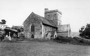 Branscombe, St Winifred's Church c.1960