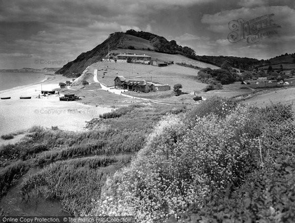 Branscombe, the Beach and Sea Shanty Tea Rooms 1931
