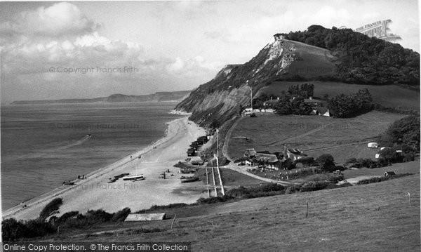 Branscombe, The Cliffs c.1950