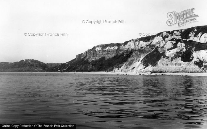 Photo of Branscombe, The Cliffs c.1960