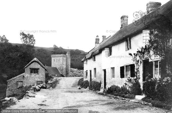 Photo of Branscombe, The Village 1898