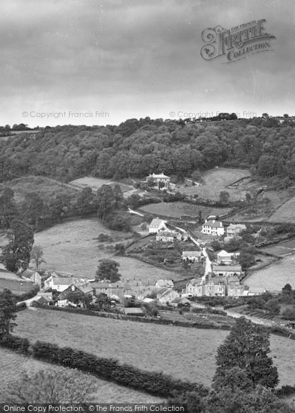 Photo of Branscombe, The Village 1931