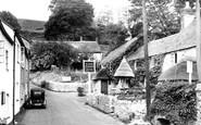 Branscombe, the Village c1955