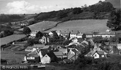 Branscombe, The Village c.1955