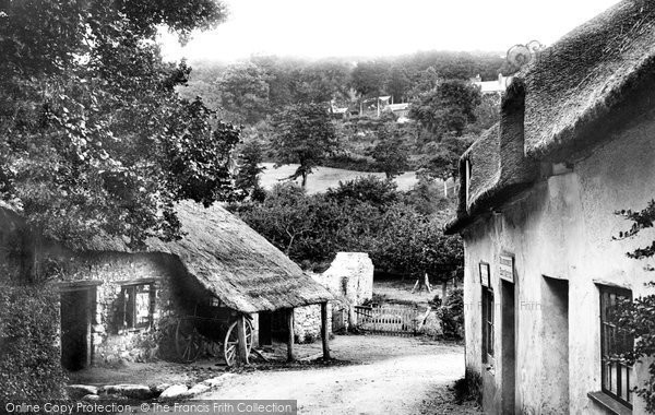 Photo of Branscombe, Village And The Smithy 1898
