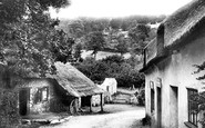 Branscombe, Village and the Smithy 1898