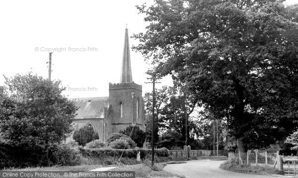 Bransgore, The Church Of St Mary c.1960