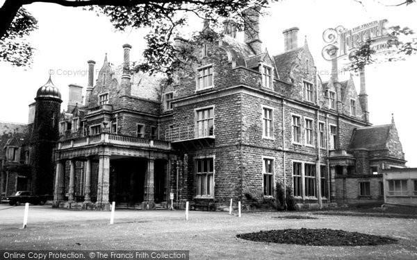 Photo of Branston, Branston Hall Hospital c.1965
