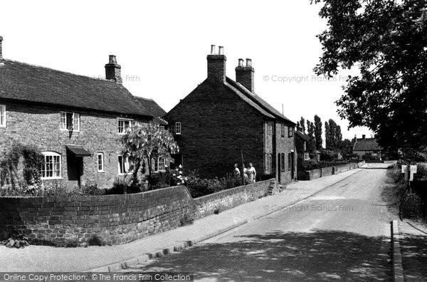 Branston, Critchlow Corner c.1955