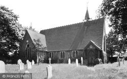 Branston, St Saviour's Church c.1955