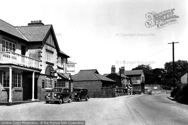 Branston, The Smith's Arms And The School c.1955