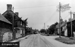 Brant Broughton, High Street c.1955