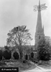 Brant Broughton, St Helen's Church c.1955