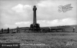 Flodden Memorial c.1955, Branxton