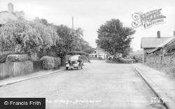 Branxton, The Village c.1955