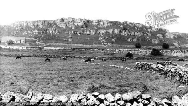 Brassington, Harboro Rocks c1960