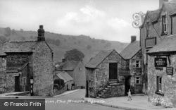 The Miners Square c.1955, Brassington