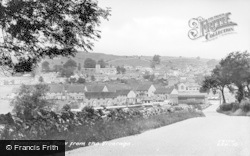 Brassington, View From The Vicarage c.1955