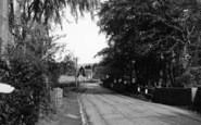 Brasted, A Village Lane c.1955