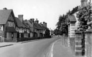 Brasted, Alms Row c.1955