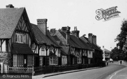 Brasted, Alms Row c.1955