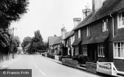 Brasted, Alms Row c.1960
