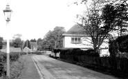 Brasted, Church Road c.1955