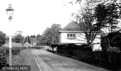 Brasted, Church Road c.1955