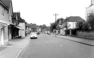 Brasted, High Street c.1960