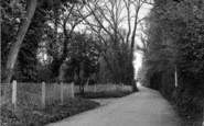 Brasted, Rectory Lane c.1955