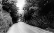 Brasted, Rectory Lane c.1960