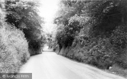 Brasted, Rectory Lane c.1960