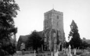 Brasted, St Martin's Church c.1960