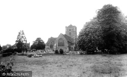 Brasted, St Martin's Church c.1960