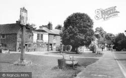 Brasted, The Green c.1965