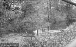 Brasted, The River c.1955