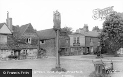 Brasted, The Village Sign c.1960