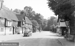 Brasted, The White Hart c.1955