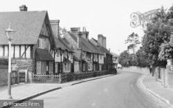 Brasted, Village c.1955