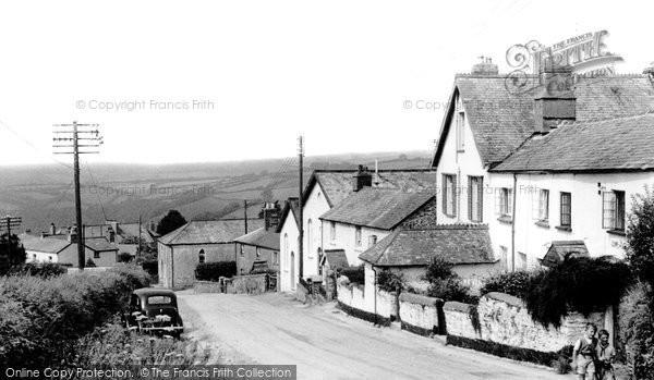 Bratton Fleming, The Village Street c.1955