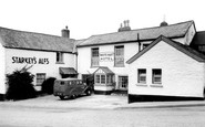 Bratton Fleming, White Hart Hotel c1955