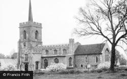 Braughing, St Mary's Church c.1955