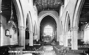 Braughing, St Mary's Church Interior c.1960