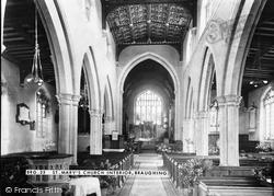 Braughing, St Mary's Church Interior c.1960