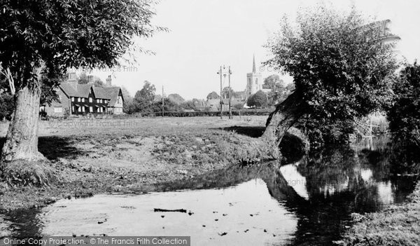 Braughing, The Maltings And St Mary's Church c.1960