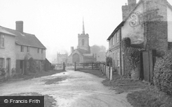 Braughing, The Village And Church c.1950