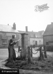 Braughing, The Village Pump c.1950