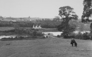 Braunston, General View And Butcher's Bridge c.1955